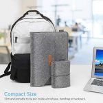 "HOMIEE 13-13,3 Pouces Housse pour Ordinateur Portable Apple New MacBook Pro, MacBook Pro Retina, MacBook Air, 12.9"" iPad Pro, Dell XPS, Lenovo/HP/Chormebook, Gris Clair de la marque HOMIEE image 4 produit"