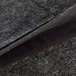 """Housse en feutre de laine KANVASA pour ordinateur portable 14 pouces et MacBook Pro 15"""" - Sac premium antracite pour Notebook Ultrabook avec cuir marron - Housse pour Apple Samsung Lenovo HP Dell et + de la marque KANVASA image 3 produit"""