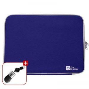 Housse étui bleu de protection + mini souris USB pour ordinateurs / PC portables 18 pouces de la marque Duragadget image 0 produit