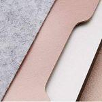 Housse Feutre & Cuir Synthétique Microfibre Résistant à l'Eau Pochette Sacoche pour 11.6-15.4 MacBook Notebook Ultrabook Tablet PC de la marque MISSMAO image 4 produit