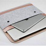 Housse Feutre & Cuir Synthétique Microfibre Résistant à l'Eau Pochette Sacoche pour 11.6-15.4 MacBook Notebook Ultrabook Tablet PC de la marque MISSMAO image 2 produit