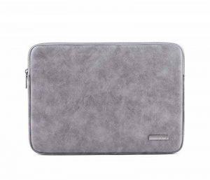 Housse Laptop Sleeve en cuir suède pour ordinateur portable et Macbook air/pro 13.3/14 / 15.6 pouces de la marque Anyu image 0 produit