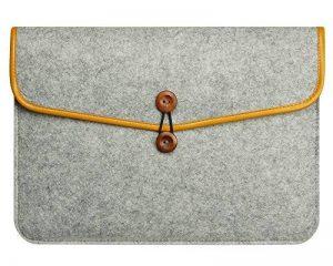 Housse Macbook Air / Macbook Pro Retina Sacoche Feutre de Laine pour Ordinateur Portable Ultrabook Sac Manches Pochette de la marque ZhuiKun image 0 produit