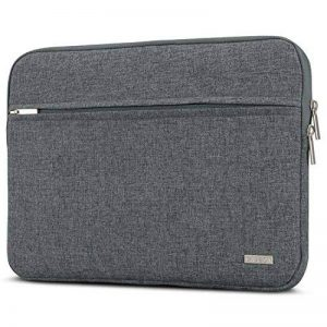 """Housse MacBook Pro 13"""" Anthracite Mélange – CASEZA Milan Sac Ordinateur Portable MacBook Pro 13 (2016) Dell XPS 13 Surface Pro 3 4 & des Modèles 11 11,6 & 12"""" – Etui PC fabriqué de Mouteilles recyclées PET de la marque CASEZA image 0 produit"""