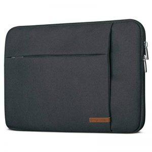 """Housse Ordinateur Portable 14 Pouces MacBook Pro 15"""" Anthracite - CASEZA London Sac pour Notebook 14"""", MacBook Pro 15"""", Dell XPS 15 & + – Sac à Main pour PC Ultrabook résistant à l'eau avec 2 Poches de la marque CASEZA image 0 produit"""