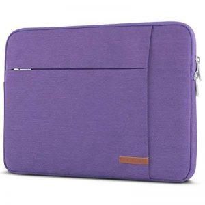 """Housse Ordinateur Portable 15 – 15,6"""" Violet - CASEZA London Sac pour Notebook 15"""", Dell HP Toshiba Acer Asus Lenovo & + – Sac à Main pour PC Portable 15"""" résistant à l'eau avec 2 Poches de la marque CASEZA image 0 produit"""
