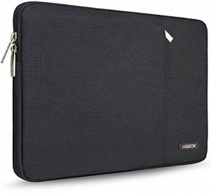 HSEOK 15-15.4 Inch MacBook Pro Laptop Sleeve| Dell XPS 15 |15.6 Inch Ausu ZenBook Pro/Q Series,Spill-Resistant 15 Inch Ultrabook Netbook Tablet Bag Case Cover, Black de la marque Hseok image 0 produit