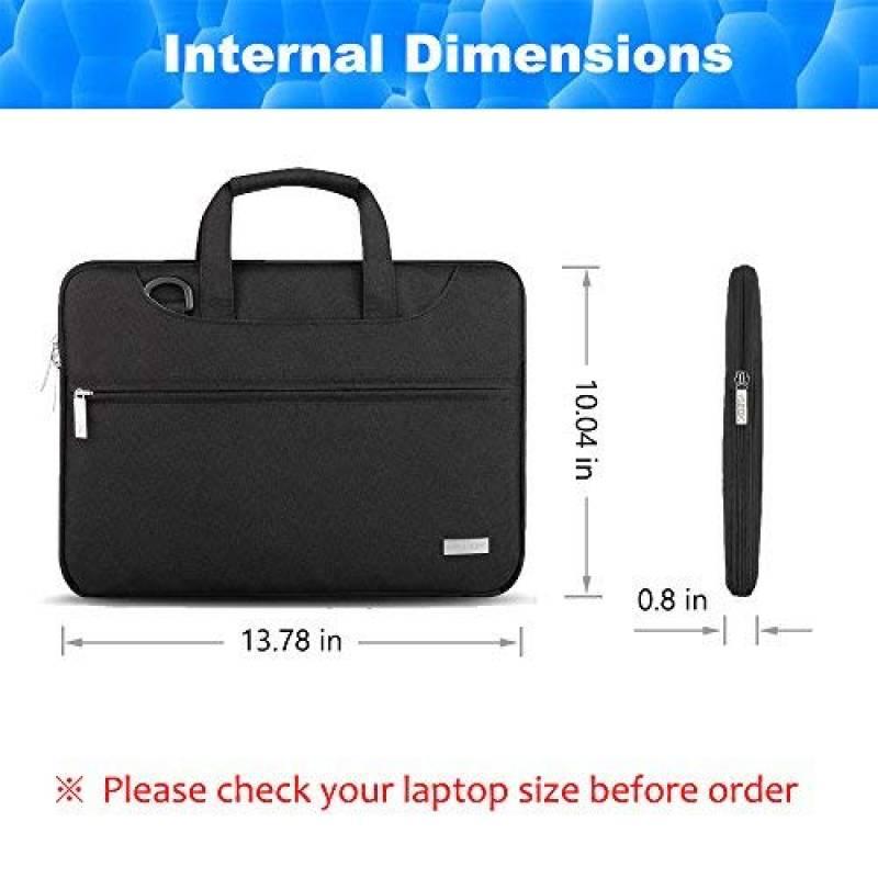 7096b1a629 HSEOK 3 Voies MacBook Air 13,3 Pouces Sacoche pour Ordinateur Portable/Sac  à Bandoulière PC/Sac PC Portable/Housse de Laptop pour 13