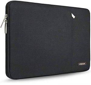 HSEOK MacBook Air/Pro 13-13,3 Pouces Housse de PC Portable, Laptop Sleeve Case pour Surface Book 2, Sacoche Ordinateur Portable Étui Antichoc Certifié Résistant à l'eau & Plus 14 Pouces, Noir de la marque Hseok image 0 produit