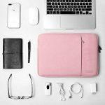 """HSEOK Nouveau 13 Pouces MacBook Pro Sleeve Case, Housse de Protection Antichoc Certifiée Résistante à l'eau pour Surface Pro 3/4/2017 12,3"""", XPS 13 & Plus 11,6-13 Pouces Notebook Ultrabook - Rose de la marque Hseok image 4 produit"""