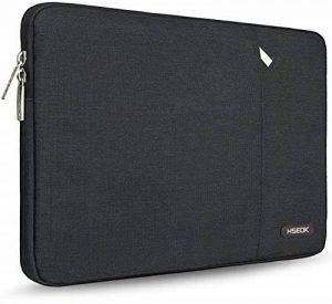 """HSEOK Sacoche Pour Ordinateur Portable Housse MacBook Air 11.6"""", Housse Antichoc en Nylon avec Pochette Ordinateur Waterproof, Compatible pour Apple/Lenovo/Dell/Acer/Toshiba, Noir de la marque Hseok image 0 produit"""