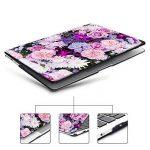 iCasso Coque MacBook Air Case, Coque MacBook Pro Case Ultra Slim étui Housse de Protection Hard Rigide Cover Shell MacBook Air, Pro, Pro Rentina (Purple Flower) de la marque iCasso image 1 produit