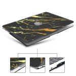iCasso Macbook Air 13 pouces Case, Noir Or Marbre Soft-Touch Matte Scratch Couverture en plastique pour Macbook Air 13 pouces (Modèle: A1369 & A1466) de la marque iCasso image 1 produit