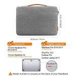 """Inateck 13-13,3 Housse MacBook Air/MacBook Pro/12,3"""" Surface Pro Sacoche Ordinateur Portable 13 Pouces de la marque Inateck image 1 produit"""