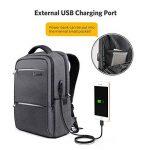 Inateck 15-15.6 Pouces Sac à Dos pour Ordinateur Portable avec Port de Charge USB et Housse de Pluie Imperméable de la marque Inateck image 3 produit