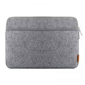 """Inateck Housse d'Ordinateur Portable 13-13.3"""" en Feutre Gris, Design Combiné pour MacBook Air/MacBook Pro 2012/2013/2014/2015 et d'Autres PC Portables DE 13"""" de la marque Inateck image 0 produit"""