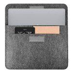 Inateck Housse en Feutre de Laine pour 15 pouces Nouveau MacBook Pro 2016/2017 avec Touch Bar et Touch ID (modèle A1707),Gris foncé de la marque Inateck image 2 produit