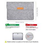 Inateck Nouveau MacBook 12 Pouces Housse New MacBook 2015-2017 Sacoche pour New Macbook DE 12 Pouces de la marque Inateck image 1 produit