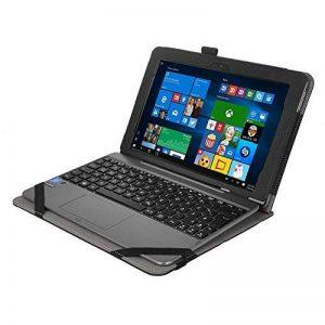 IVSO 2-en-1 Flex-Book Etui Housse en cuir aver support pour Asus T101HA-GR004T PC portable, Nior de la marque IVSO image 0 produit