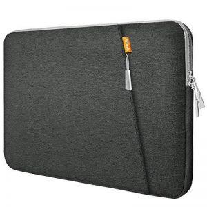 JETech 13,3 Pouces Housse pour iPad et Ordinateur Portable, Sacoche avec Poche Accessoire, Résistant Aux Chocs Imperméable à l'eau Fonction de la marque JETech image 0 produit