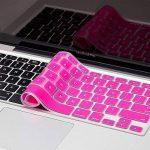 """KENTY Protection de Clavier QWERTZ pour Apple MacBook Pro 13 & 15 & 17"""", Silicone Clavier Ordinateur Portable – Notebook Clavier Film de Protection d'écran (Rose) de la marque KENTY image 2 produit"""
