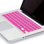"""KENTY Protection de Clavier QWERTZ pour Apple MacBook Pro 13 & 15 & 17"""", Silicone Clavier Ordinateur Portable – Notebook Clavier Film de Protection d'écran (Rose) de la marque KENTY image 1 produit"""