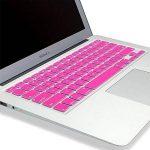 """KENTY Protection de Clavier QWERTZ pour Apple MacBook Pro 13 & 15 & 17"""", Silicone Clavier Ordinateur Portable – Notebook Clavier Film de Protection d'écran (Rose) de la marque KENTY image 3 produit"""
