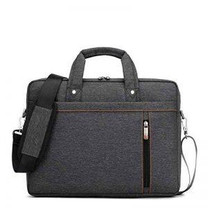 Kivors Sac à Dose en Nylon Sacoche pour Ordinateur Portable 13-17inch (15inch, Noir) de la marque Kivors image 0 produit