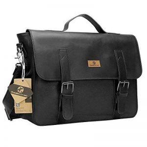 Koolertron sac message sac à main sac bandoulière sac cartable en simili cuir pour Homme de la marque Koolertron image 0 produit