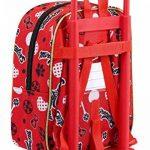 """Ladybug""""Sparkle"""" Sac à Dos Pépinière Officielle Avec un Chariot Safta de la marque Ladybug image 1 produit"""