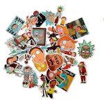 LB trading Drama Rick et Morty Stickers imperméable aléatoire style trendy Graffiti Stickers pour bagages Valise Skateboard Laptop Phone Car Bike 36pcs de la marque LB trading image 2 produit
