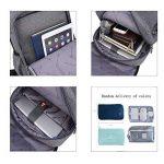 LD Sac à Dos Ordinateur, Business PC Backpack 14-15 Pouces Poche de Antivol Homme Femme Vintage Élégant de la marque LD image 2 produit