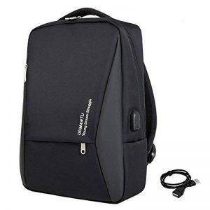 LD Sac à Dos Ordinateur, Business PC Backpack 14-15 Pouces Poche de Antivol Homme Femme Vintage Élégant de la marque LD image 0 produit