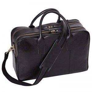 Leathario serviette homme sac messager porte épaule sac besace bandoulière sac à main sac ordinateur en cuir pour hommes de la marque Leathario image 0 produit