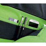 """Leitz Sac pour ordinateur 15.6"""", 18 poches de rangement, Noir, Polyester Déperlant et Cuir Véritable, Smart Traveller, 60160095 de la marque Leitz image 4 produit"""