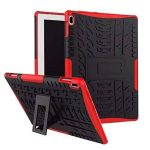 Lenovo TAB 410Coque, Xitoda Armour Style hybride PC + TPU Coque de protection avec support pour Lenovo Tab 410(Tb-x304F/N) Tablette 2017Release Housse de protection Red de la marque XITODA image 0 produit
