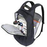 Lifewit Sac à Dos pour Ordinateur Portable de 17 Pouces en Nylon Imperméable Noir de la marque Lifewit image 4 produit