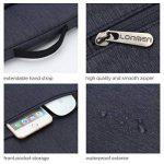 """LONMEN Laptop Sleeve Protective Case Bag Imperméable Housse de Protection pour 9,7-10,5 Pouces Ordinateur Portable 9.7""""iPad Air 2/10.1""""Lenovo Yoga Book / 10.5"""" iPad Pro, Bleu de la marque LONMEN image 4 produit"""