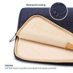 """LONMEN Laptop Sleeve Protective Case Bag Imperméable Housse de Protection pour 9,7-10,5 Pouces Ordinateur Portable 9.7""""iPad Air 2/10.1""""Lenovo Yoga Book / 10.5"""" iPad Pro, Bleu de la marque LONMEN image 3 produit"""