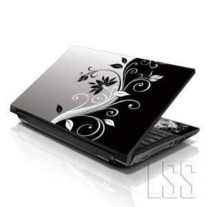 """'LSS 1515,6pouces pour ordinateur portable Notebook Skin Coque autocollant Decal adaptée pour 13.3""""14"""" 15.6""""16HP Dell Lenovo Apple Asus Acer Compaq (2autocollants sous poignets inclus gartuitamente) Floral de la marque LSS image 0 produit"""