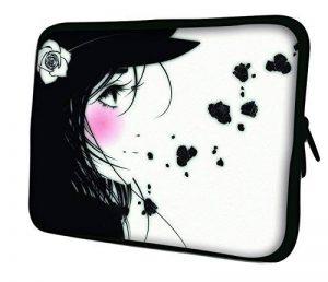 """Luxburg 10"""" pouces Housse Sacoche Pochette pour ordinateur portable / tablet - Fille Manga de la marque Luxburg® image 0 produit"""