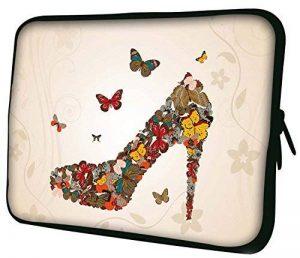 """Luxburg 10"""" pouces Housse Sacoche Pochette pour ordinateur portable / tablet - Papillons De Chaussures de la marque Luxburg® image 0 produit"""