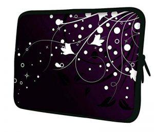 """Luxburg 12"""" pouces Housse Sacoche Pochette pour ordinateur portable / tablet - Fleurs & Stars de la marque Luxburg® image 0 produit"""