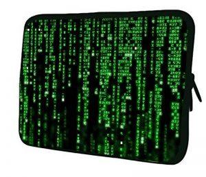 """Luxburg 12"""" pouces Housse Sacoche Pochette pour ordinateur portable / tablet - Matrix Code de la marque Luxburg® image 0 produit"""