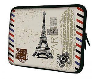 """Luxburg 13"""" pouces Housse Sacoche Pochette pour ordinateur portable / tablet - Tour Eiffel de la marque Luxburg® image 0 produit"""