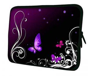 """Luxburg 15"""" pouces Housse Sacoche Pochette pour ordinateur portable / tablet - Artwork Papillons de la marque Luxburg® image 0 produit"""