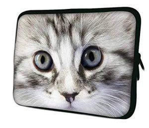 """Luxburg 15"""" pouces Housse Sacoche Pochette pour ordinateur portable / tablet - Yeux Pussycat de la marque Luxburg® image 0 produit"""
