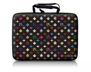 Luxburg® design hardcase sacoche housse rigide pour ordinateur portable 15,6 pouces, motif: LX Modèle noir de la marque Luxburg® image 0 produit