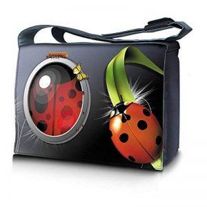 Luxburg® design sac de messager à bandoulière sacoche cartable le travail, l' école les loisirs de la marque Luxburg® image 0 produit