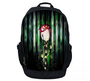 Luxburg® Luxe étui sac à dos/sac à dos pour ordinateur portable 15–Rose x fleurs de la marque Luxburg® image 0 produit